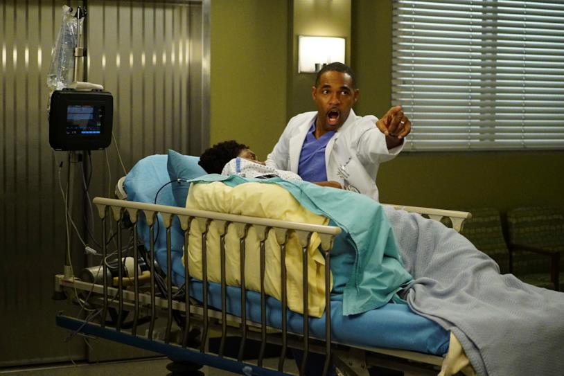 Ben Warren nell'episodio 12x18 di Grey's Anatomy