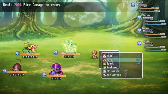 RPG Maker MV mostra il battle system da gioco di ruolo