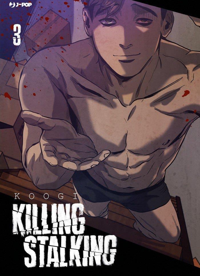 La copertina del terzo volume italiano di Killing Stalking