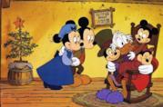 Scrooge con la famiglia di Bob