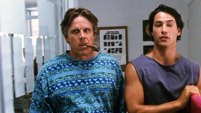 Keanu Reeves e Gary Busay in Point Break