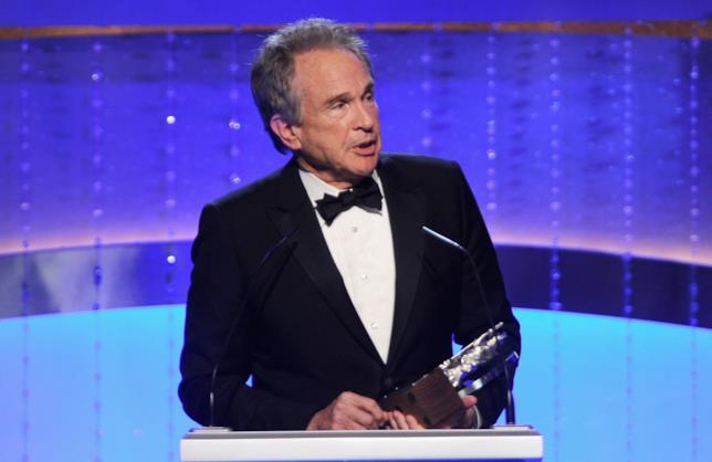 L'attore candidato all'Oscar Warren Beatty