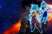 Dragon Ball Super: Broly, Goku e Vegeta sul poster italiano