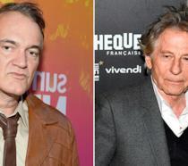 Quentin Tarantino e Roman Polanski in occasione di due eventi ufficiali