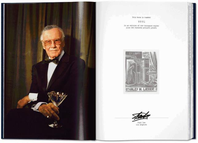 Alcune pagine di Stan Lee Story