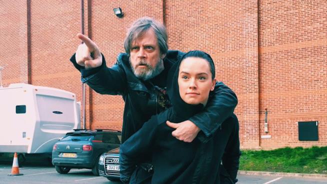 Gli attori di Star Wars 8, Mark Hamill e Daisy Ridley