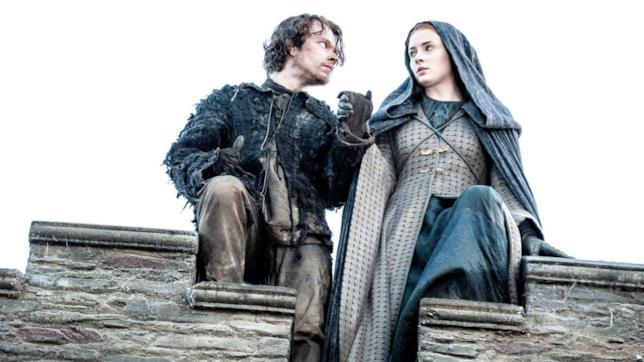 Theon e Sansa in fuga da Ramsay Bolton