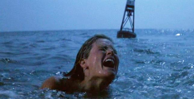 Una scena tratta dal film di Spielberg Lo Squalo