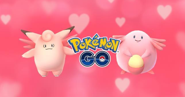 Pokémon rosa per l'evento di San Valentino in Pokémon GO