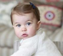 Primo piano della Principessa Charlotte