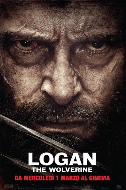 Il poster italiano di Logan: The Wolverine