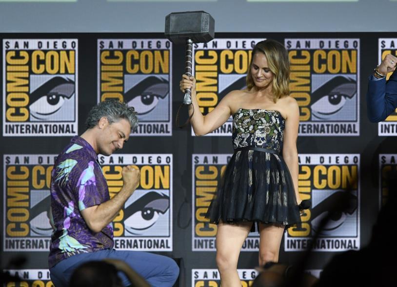 Taika Waititi e Natalie Portman al San Diego Comic-Con 2019