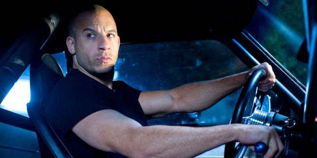 Vin Diesel in una scena di Fast and Furious
