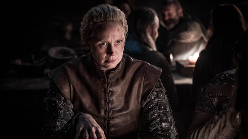 Gwendoline Christie nei panni di Brienne