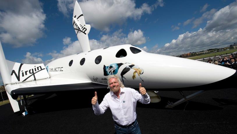Richard Brenson prenderà parte al volo di prova