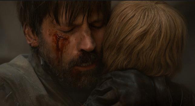 Nikolaj Coster-Waldau in Game of Thrones 8x05
