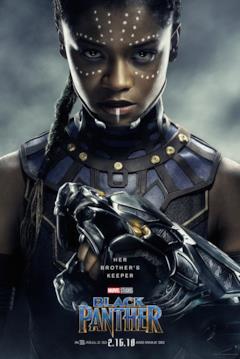 Letitia Wright è Shuri nel character poster del film Black Panther