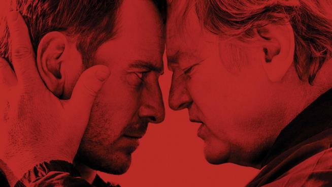 Michael Fassbender e Brendan Gleeson, protagonisti del film Codice Criminale