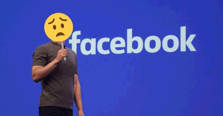 Un'emoji triste sul volto di Zuckerberg per descrivere il momento nero di Facebook