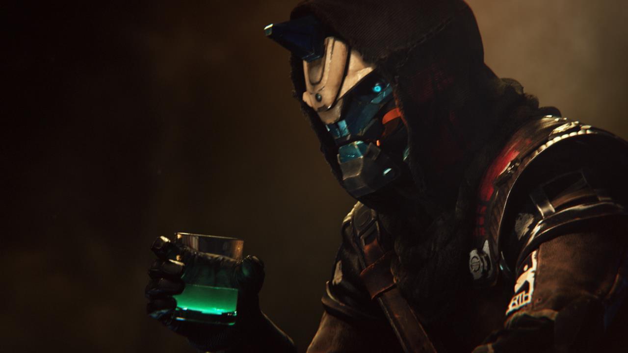 Cayde-6 beve uno strano drink nel teaser di Destiny 2