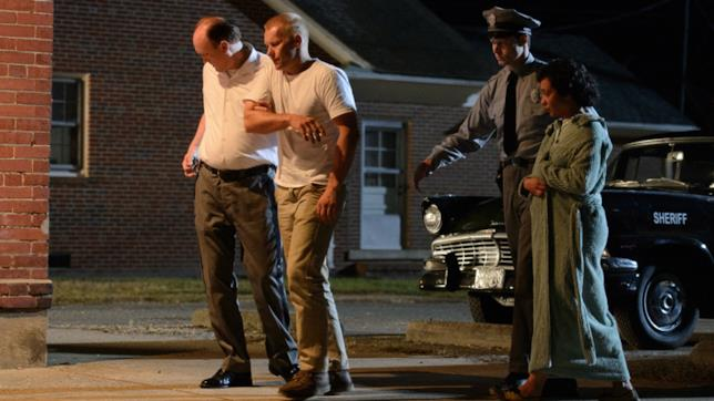Ruth Negga e Joel Edgerton durante una scena del film