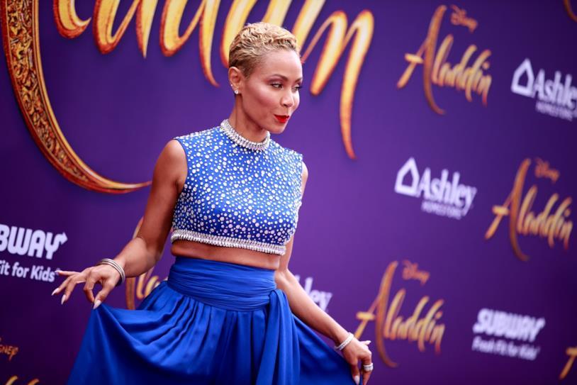 Jada Pinkett-Smith alla premiere di Aladdin