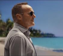 L'attore Clark Gregg nei panni di Phil Coulson