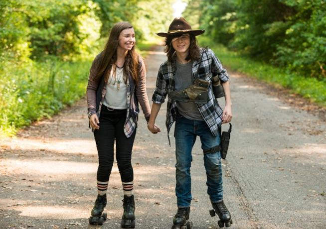 The Walking Dead: Carl ed Enid