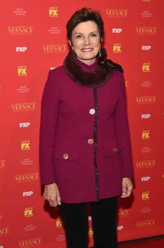 Maureen Orth all'evento per American Crime Story The Assassination of Gianni Versace