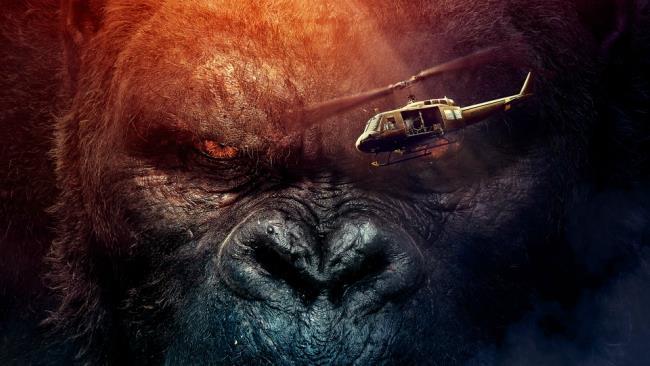 Il poster di Kong: Skull Island