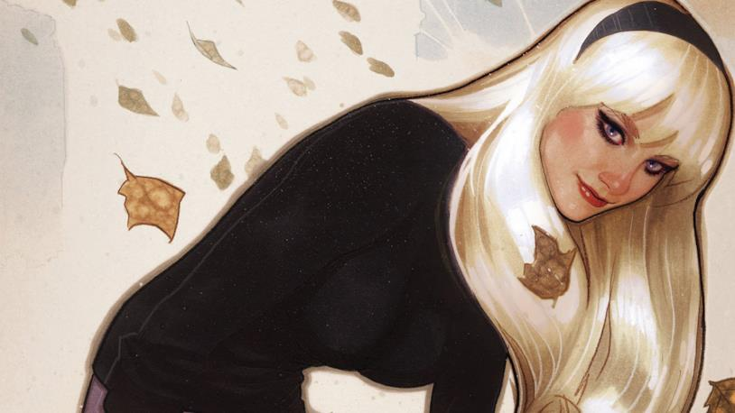 La bionda Gwen Stacy, grande amore di Peter parker