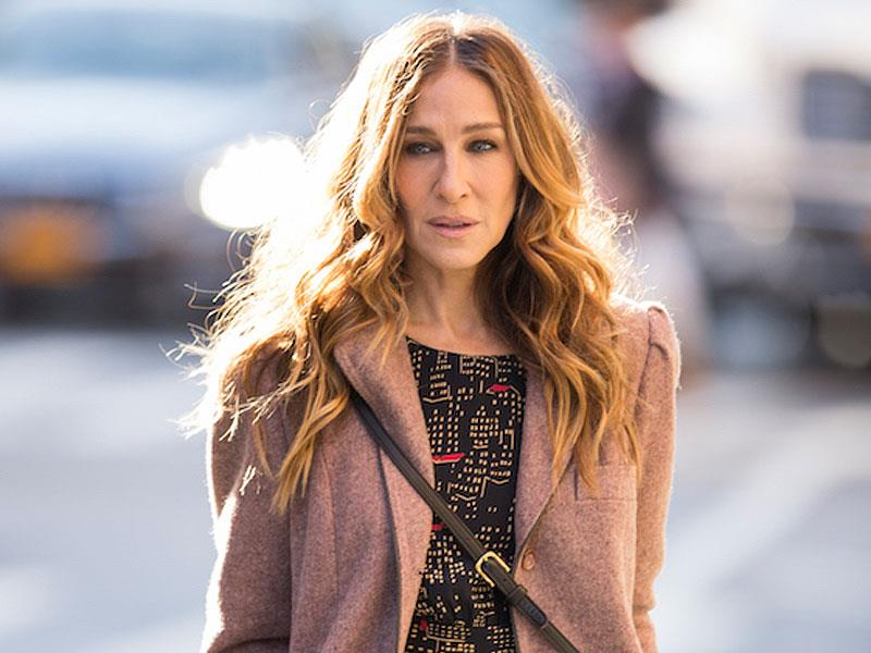 Primo piano di Sarah Jessica Parker in Divorce