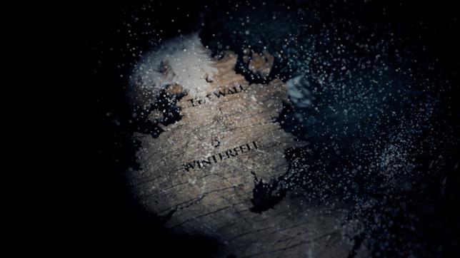 La mappa della Barriera e di Grande Inverno
