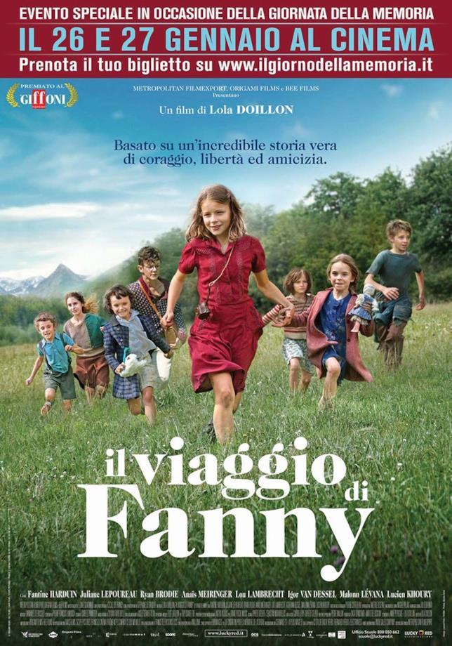 Il viaggio di Fanny: il manifesto del film