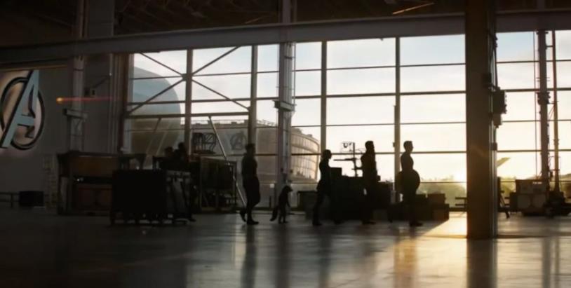 Gli Avengers nella loro sede