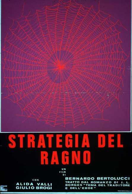 La locandina di Strategia del ragno