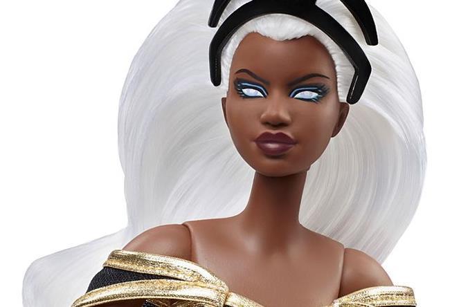 Un dettaglio di Barbie Storm: occhi