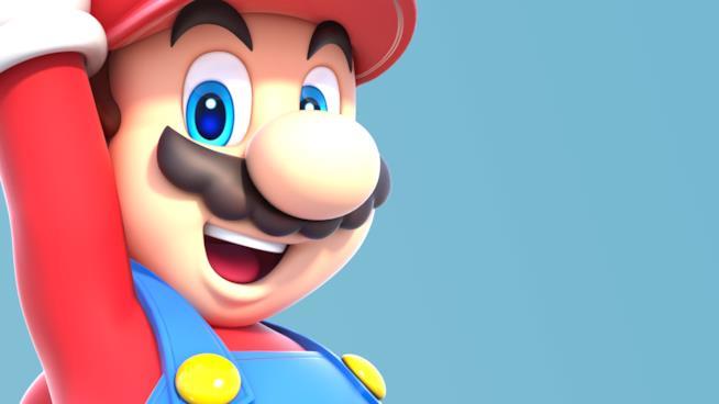 Un primo piano di Mario sorridente
