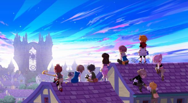 Foto di gruppo per tutti gli eroi di Kingdom Hearts Unchained χ