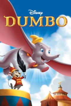 Poster del DVD di Dumbo