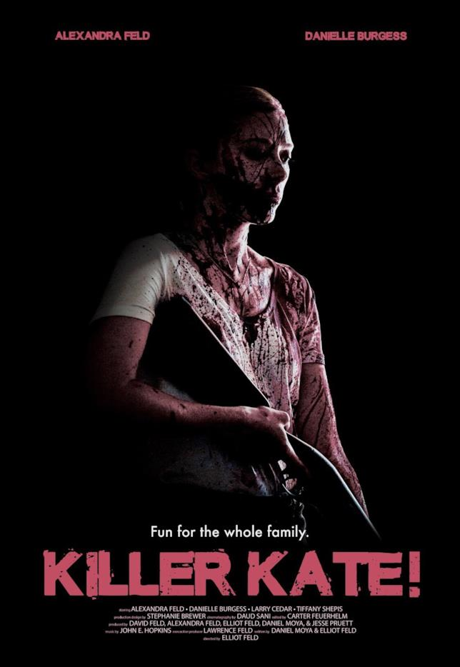 Il poster di Killer Kate!