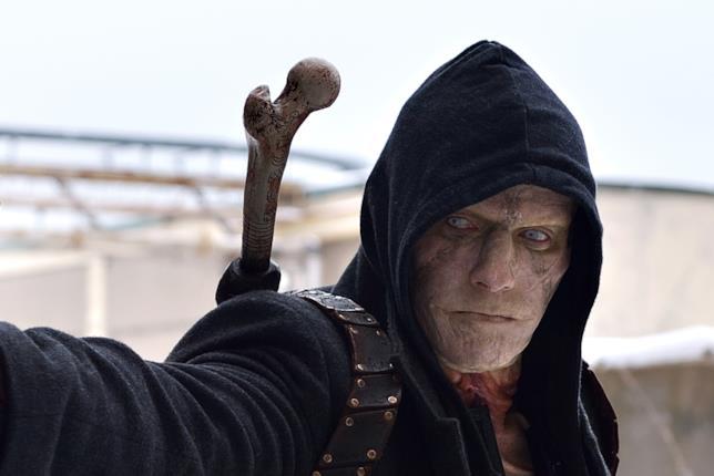 Il vampiro mezzosangue Quinlan, uno dei protagonisti di The Strain.