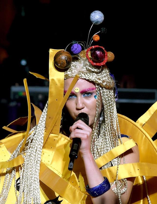 Miley Cyrus sul palco