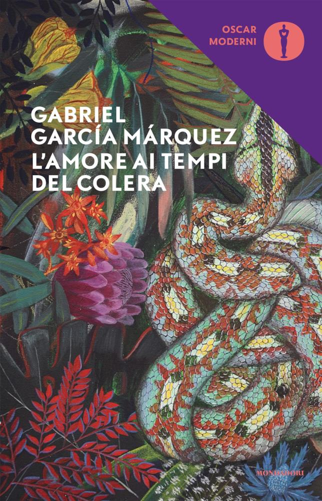 La copertina de L'amore ai tempi del colera