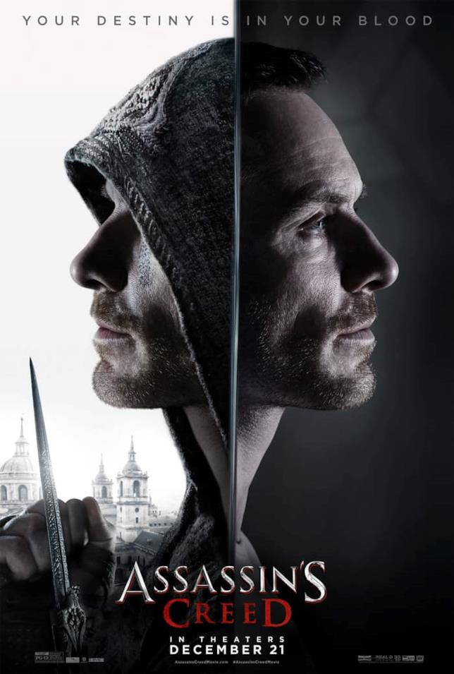 Michael Fassbender interpreta l'Assassino Aguilar e il suo discendente, Callum Lynch