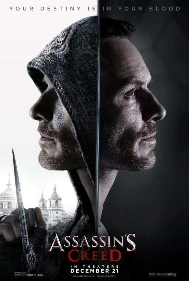 Michael Fassbender interpreta l'Assassino Aguilar e il suo discendente, Callum Lynch