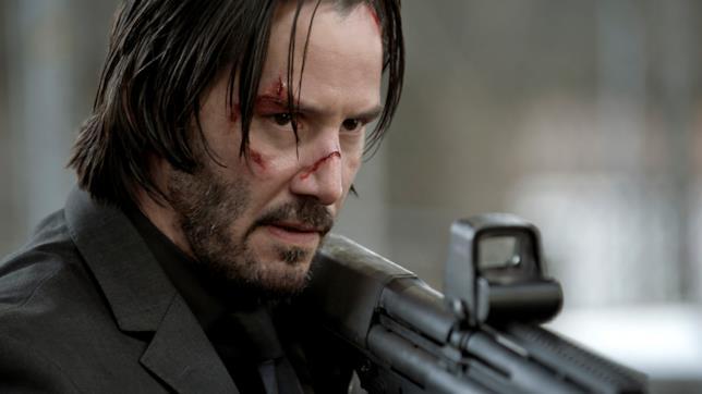 Keanu Reeves nel film