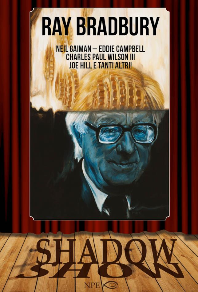 La cover del volume dedicato a Ray Bradbury