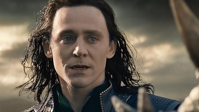 L'attore Tom Hiddleston