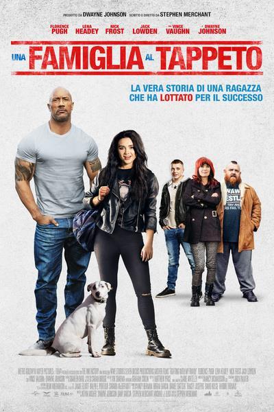 Il poster di Una famiglia al tappeto, biopic sulla wrestler Paige